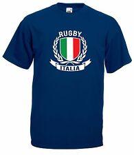 T-shirt Maglietta J1661 Italia Rugby Sei Nazioni Maglia Nazionale Terzo Tempo