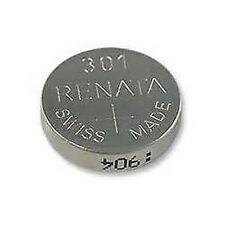 301 SR43SW  Renata Swiss Made Watch Batteries Silver Oxide SR43
