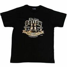 Ned Kelly - Adult T Shirt Australian Souvenir 100% Cotton - Iron Outlaw