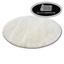Fantastique Weiches& Épais Tapis Poils Longs Shaggy Micro Cercle Caramel Haut