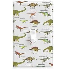 Dinosaur Pattern Wall Plate Light Switch Plate-Kids Room-Bedroom-Bathroom-Home