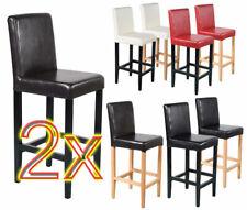 Coppia sgabelli Vicenza Lounge pelle colore scelta