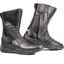 Richa Zenith Motorcycle Boots Waterproof Zip Bike Leather Motorbike All Sizes