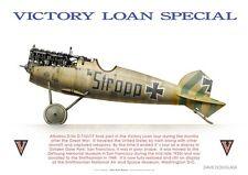 Print Albatros D.Va, Jasta 46, Victory Loan Special (by D. Douglass)