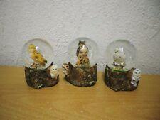 """Kleine Schneekugel """"Eule"""" (Kunstharz/Glas) / Small Snow Globe """"Owl"""" (Glass/SR)"""