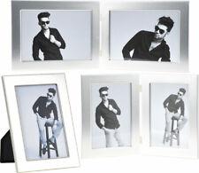 Miles Portrait- und Doppelrahmen silber