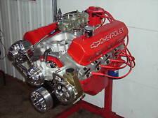 BBC 496 STROKER CHEVY TURN KEY ENGINE ALUM HEADS 635HP CHEVROLET STROKER 502