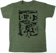 DC Boys T Shirt DC Trademark  Skate 100% Cotton Green Melange DC Shoes Brand  DC