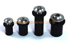 Well Nuts 8mm M4, 10mm M5, 13mm M6 Rubber Wellnuts Wall Cavity Wall Fixings