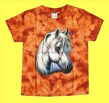 T-Shirt Pferd Pferde-Kopf,Gr.86*92*110*116*Pony Reiter Indianer Cowboy Ranch