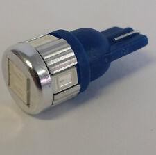 T10 Wedge LED Lamp Bulb White Blue Red Green Amber Pink Purple Parker Light Dash