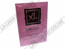 CARTA CANSON XL MARKER - 70 g/mq - A4 e A3 - BLOCCO 100FG COLLATO LATO CORTO