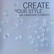 Vintage Swarovski® Crystal #5309/1 Fancy Bi-cone Beads - Crystal - Choose Size