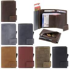 1ffa493d087aa Secwal Kartenbörse Kartenetui Minibörse mit Münzfach Herrenbörse  Portemonnaie