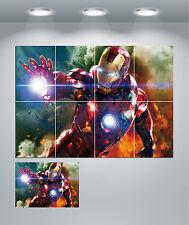 Ironman Avengers GIGANTE Wall Art POSTER stampati