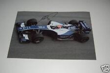 BMW Williams F1 photo signed by Kazuki Nakajima.