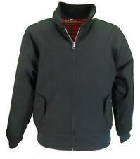 Relco Mens Dark Green Harrington Jacket