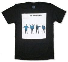 The Beatles-Help-Black T-shirt
