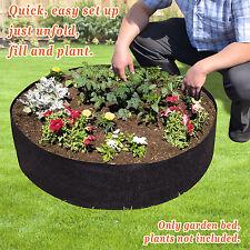 Big Bag Bed Herb Flower Vegetable Planting Raised Bed Gardening Round Planter