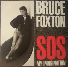 "BRUCE FOXTON - SOS My Imagination ~ 12"" Single PS"