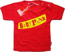 Baby punk niños-t-shirt rojo by Stardust