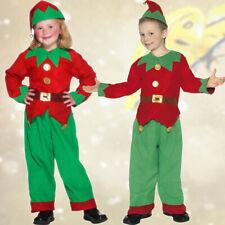 Wichtelkostüm Kinder Zwergenkostüm Kobold Kostüm Weihnachtskostüm Gnom Zwerg