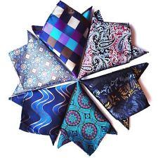 F126-C  38 Color NEW Mens Silk Handkerchief Pocket Square Paisley Floral Wedding