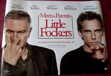 Cinema Poster: LITTLE FOCKERS 2010 ('Eyes' Quad) Robert De Niro Ben Stiller