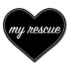 Love My Rescue Vinyl Sticker - SELECT SIZE