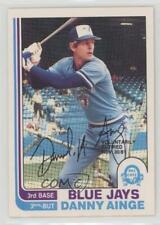 1982 O-Pee-Chee #125 Danny Ainge Toronto Blue Jays Baseball Card