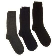 New Mens Kangol Multi Triple Pack Cotton/Nylon Socks Casual