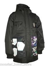 NEW WITH TAGS Technine GOONER SIGNATURE Snowboard Jacket BLACK MEDIUM-2XLARGE