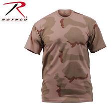 Rothco 8767 Camo T-Shirts - Tri-Color Desert Camo