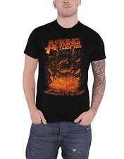 Asking Alexandria T Shirt Metal Hand Band Logo new Official Mens Black