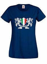 T-shirt Maglietta donna J1664 Italia Rugby Sei Nazioni Maglia Terzo Tempo Beer