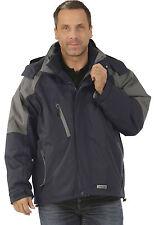 Abverkauf Planam Clay Jacke Freizeitjacke 3 in 1 marine grau Winterjacke