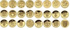 Una sterlina monete £ 1 RARA DA COLLEZIONE British Coin Hunt * 1983-2015 * MEDAGLIA raccolta