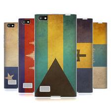 Funda Funda Diseños Vintage Banderas Set 3 Gel suave Funda Para Teléfonos Blackberry