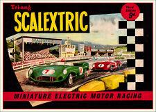Scalectrix 1962 vintage Print..FREE POSTAGE for UK