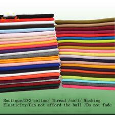 2*2 Elastic Jacket Coat Neck Leg Opening Cuff Knit Cotton Rib So Clothing Fabric