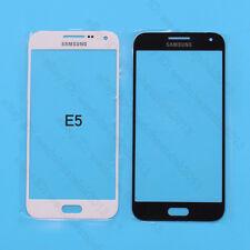 White / Black Touch Screen Outer Glass Lens For Samsung Galaxy E5 E500F E5000