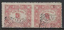Surinam 1909 NVPH 58a  CANC  F/VF