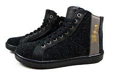 Bisgaard Kinder Leder Schnür Schuhe Mädchen Sneaker Gr. 28-36 Schwarz 31813-216