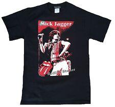 Rare Unworn Official Rolling Stones Mick Jagger Rock Star Click VIP T-SHIRT SIZE