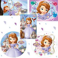 Teglie E Pirofile Da Forno Disney Principessa Sofia The First Commestibile Glassa Decorazioni 12 Per Tortiere