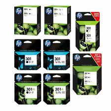 Original HP 301 / 301XL Black & Colour Ink Cartridge For DeskJet 1010 Printer