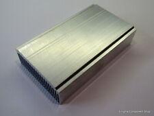 Medium Aluminium Heatsink - Electronics-Amplifier-Audio Projects - 120x69x27mm.