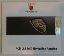06 07 08 Porsche PCM 2.1 Navigation DVD Map Brasil PR - NOS (released 05/2007)