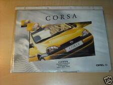 10546) Opel Corsa B Prospekt 1997