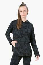 DESIGUAL SPORT Kapuzen Sweatshirt *SWEAT_OVERIZE METAMORF* negro Herbst/Winter